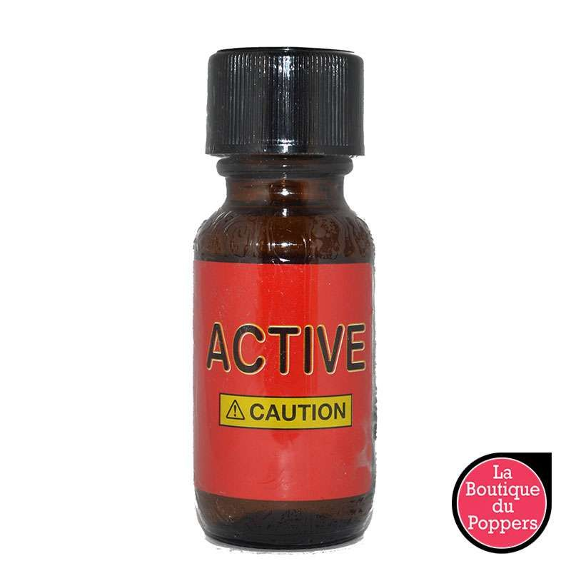 Poppers Active 25ml pas cher