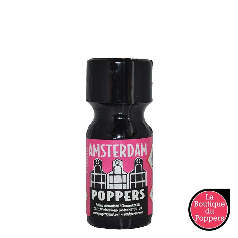 Poppers Amsterdam pas cher
