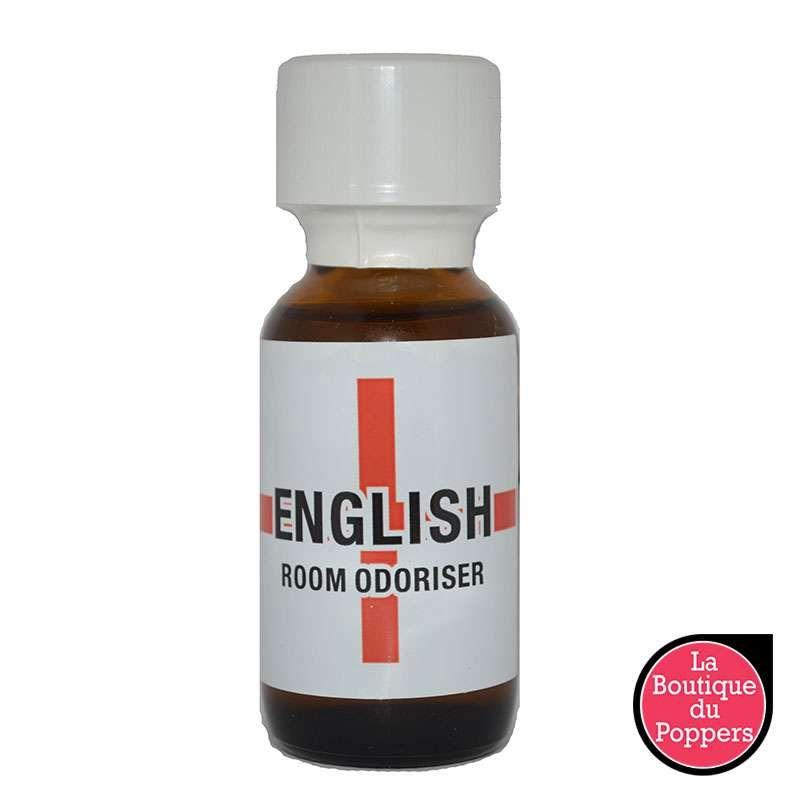 Poppers English Room Odoriser 25mL pas cher