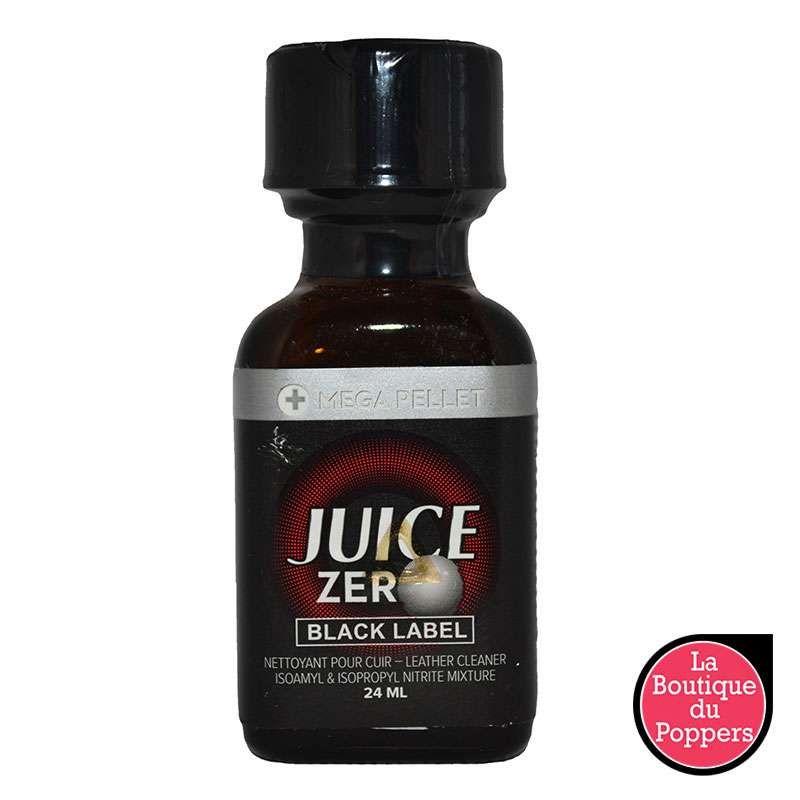 Poppers Juice Zero Black Label 24 mL pas cher