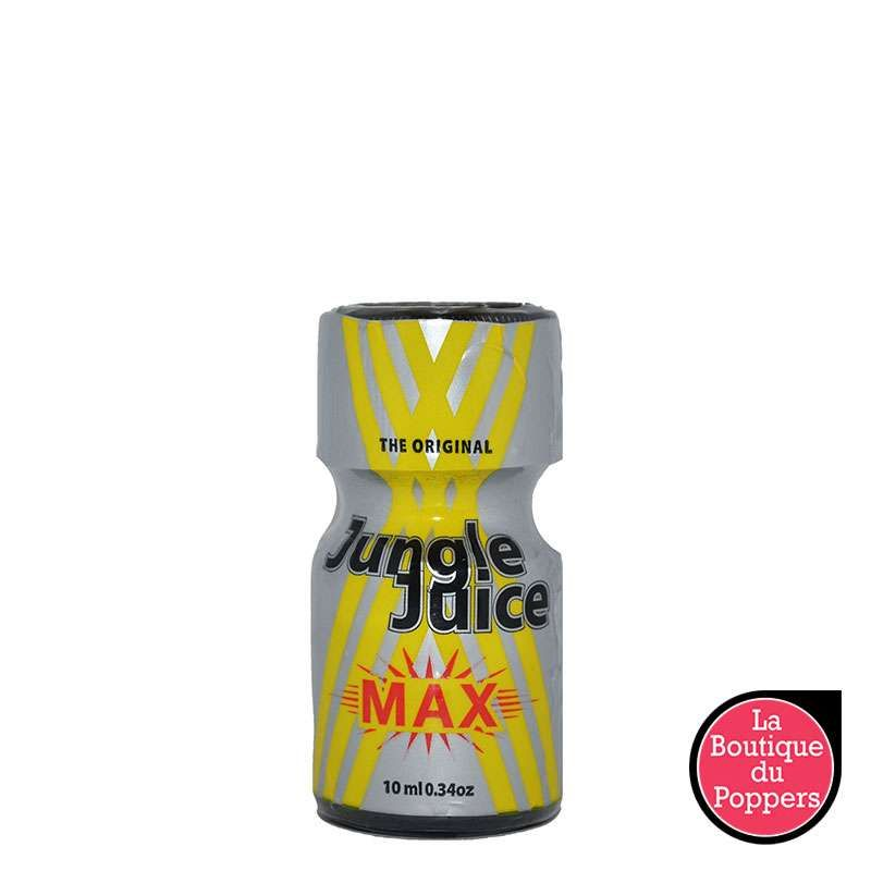Poppers Jungle Juice MAX 10 ml pas cher