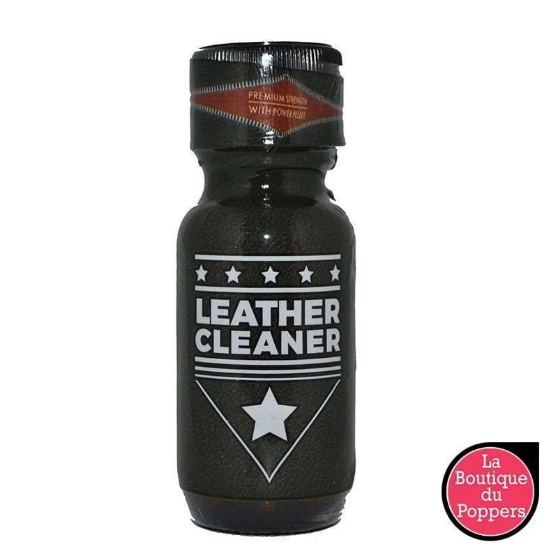 Poppers LEATHER CLEANER 25mL pas cher