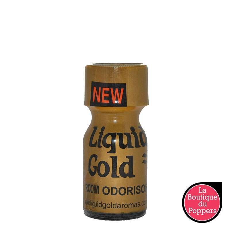 Poppers Liquid Gold 10 ml pas cher