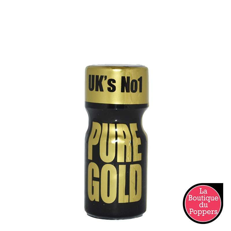 Poppers Pure Gold 10ml pas cher
