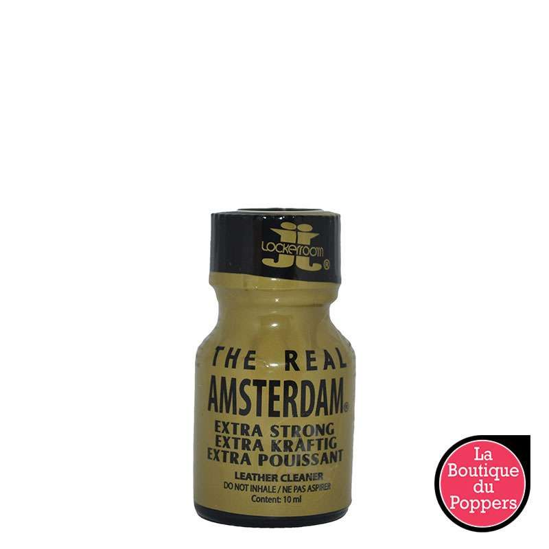 Poppers Real amsterdam 10mL pas cher