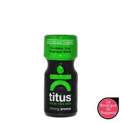Poppers Titus Strong 10 ml pas cher